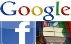 Гардиши моли Apple, Google ва Facebook андозбандӣ мешавад